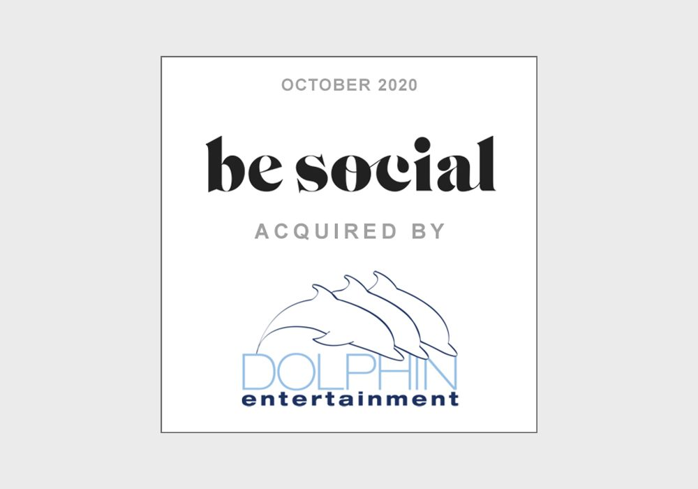 TobinLeff Advises Be Social on its Sale to Dolphin Entertainment